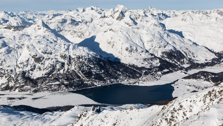 Silvaplaner See, Engadin, Graubünden