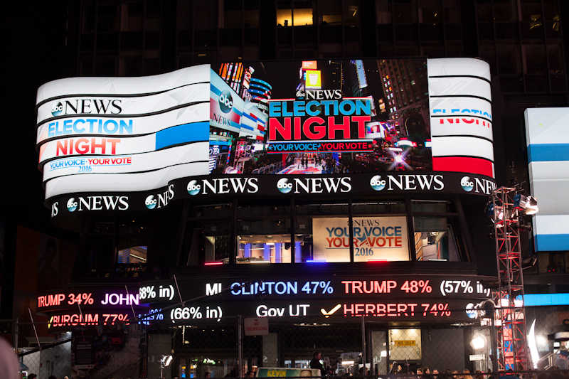 News Election 2016 Night Your Voice Your Vote News News News News